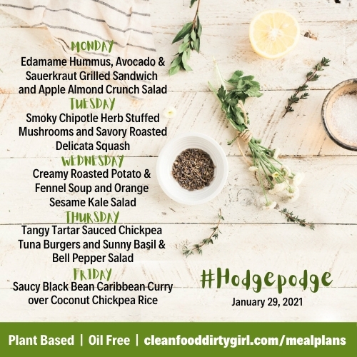 January-29-2021-Hodgepodge-menu