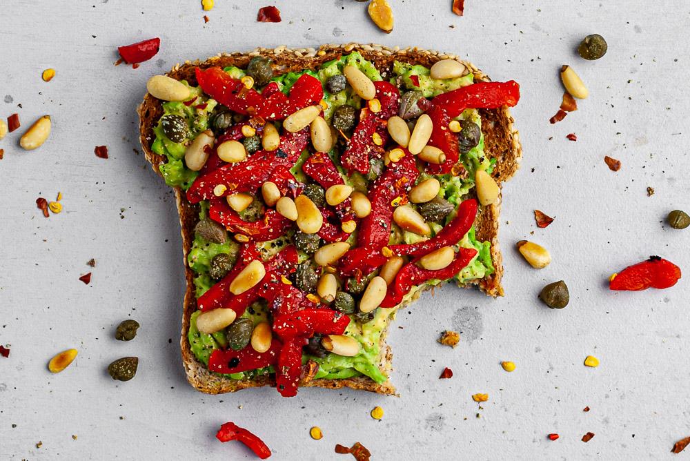 falling off the new year's Wagon + Jazzy Avocado Toast