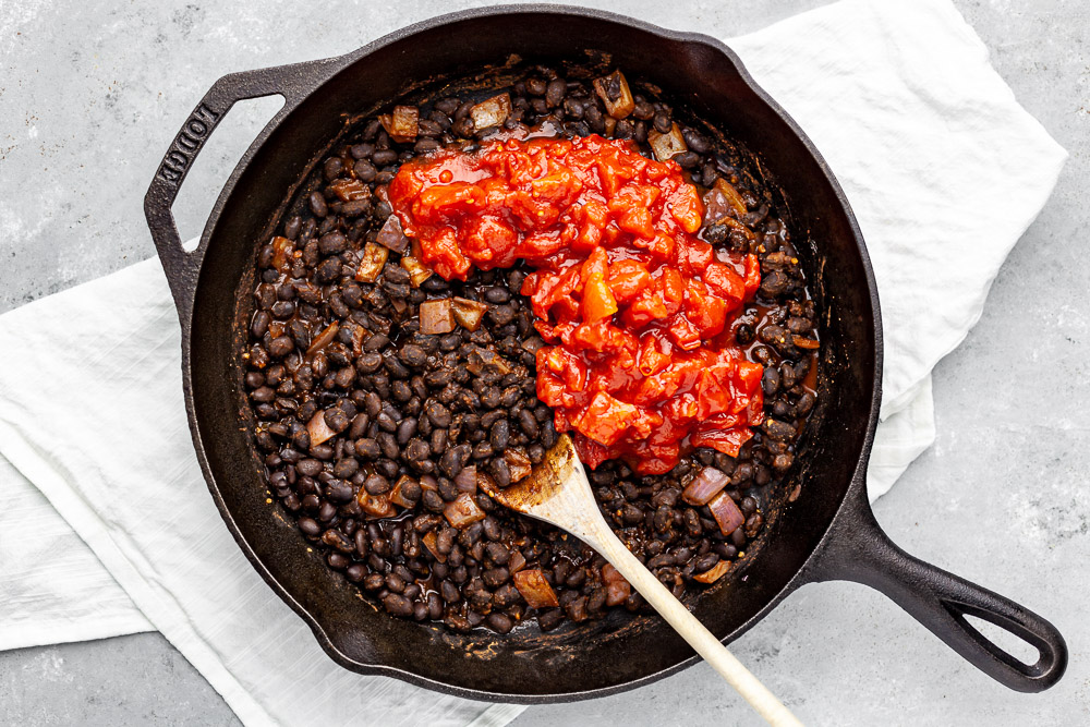 black beans from a can recipe