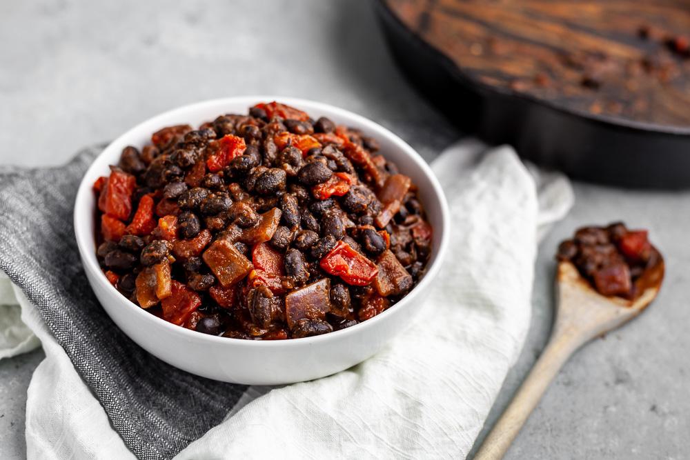 black bean dinner plant based