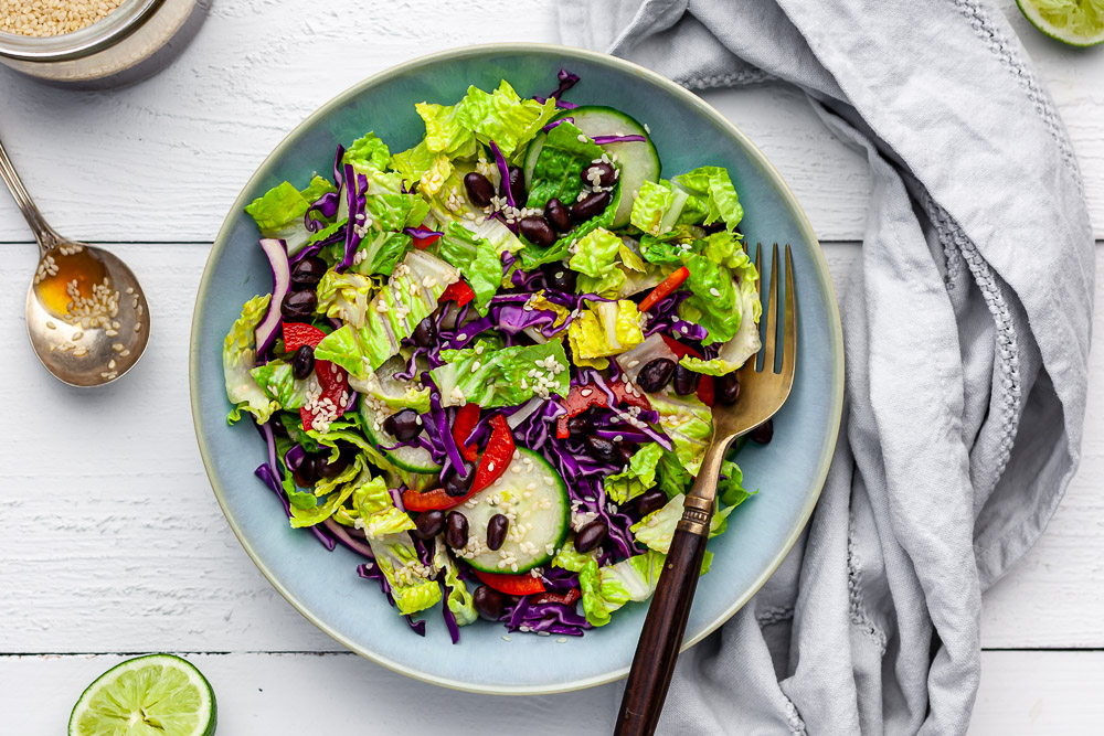 How Mandy Eats Plant Based with a Nut Allergy + Tangy Lime Dressing