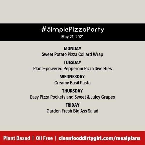 #SimplePizzaParty
