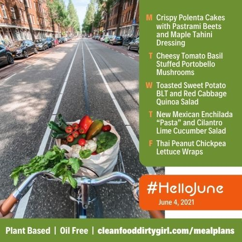 Plant Based Meal Plan Hello June