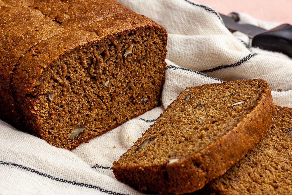banana bread oil free vegan
