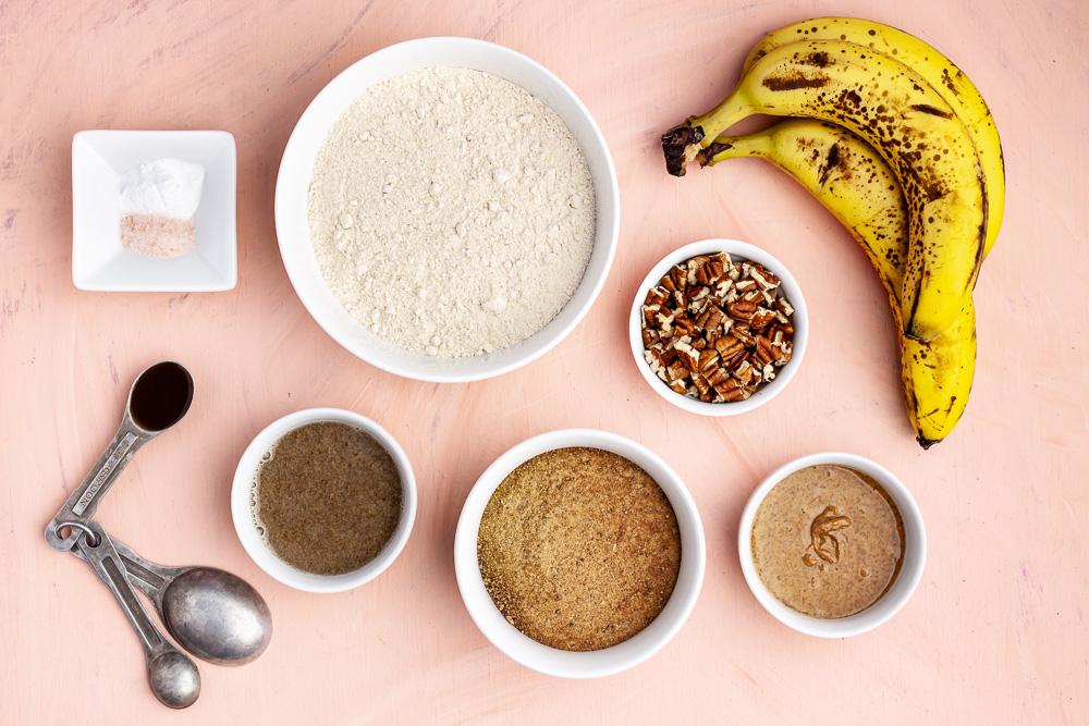 vegan banana bread oil free