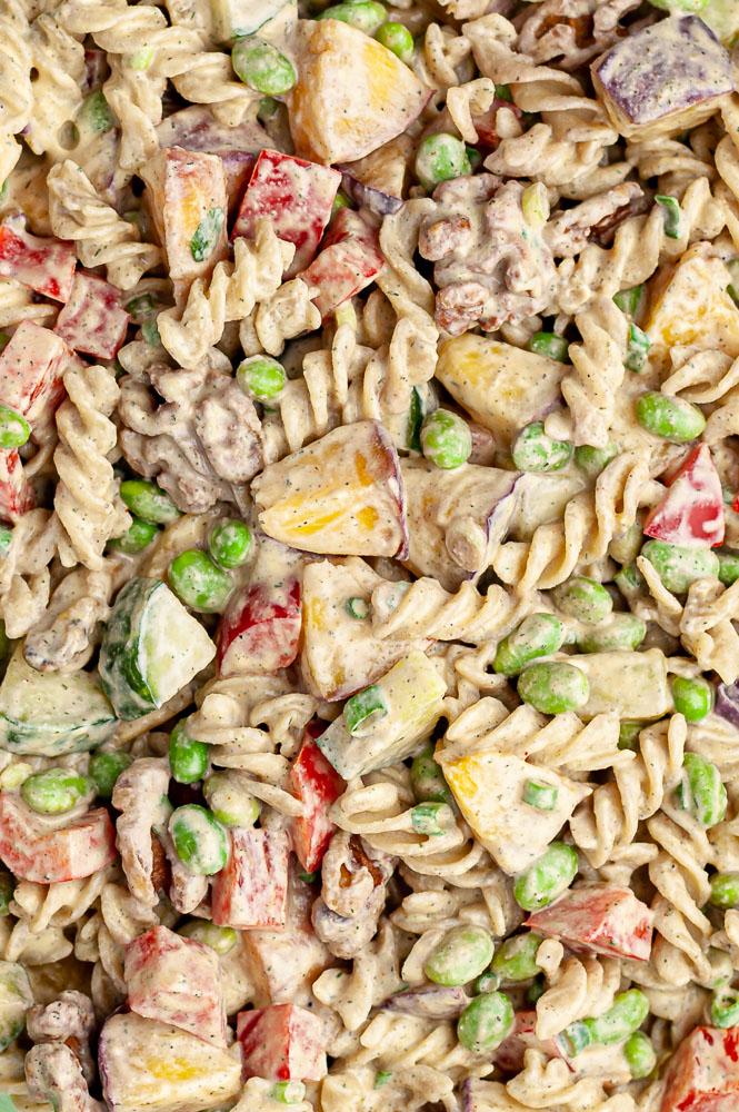 chipotle peach pasta salad fast