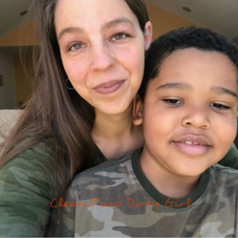 lisa talks about overcoming food addiction and her son