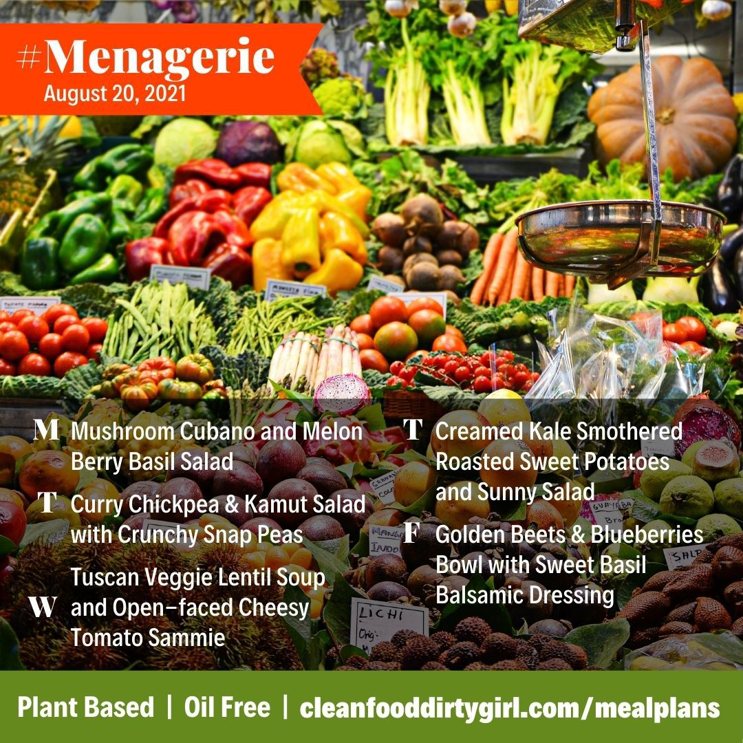 #Menagerie_Menu