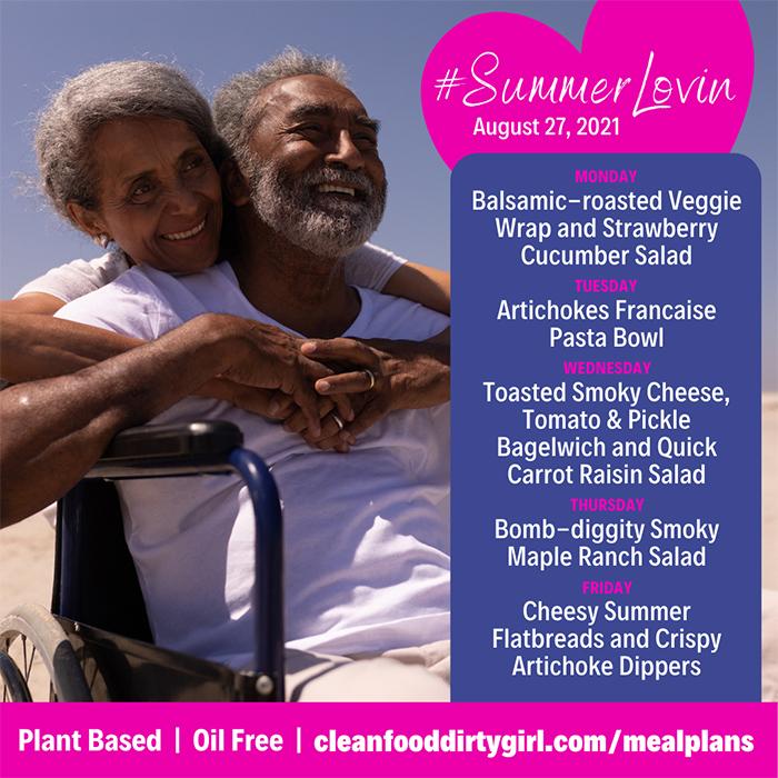 Plant Based Meal Plan Summer Lovin Menu