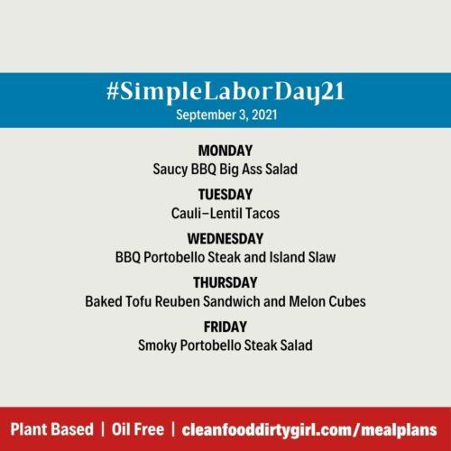 #SimpleLaborDay21_Menu