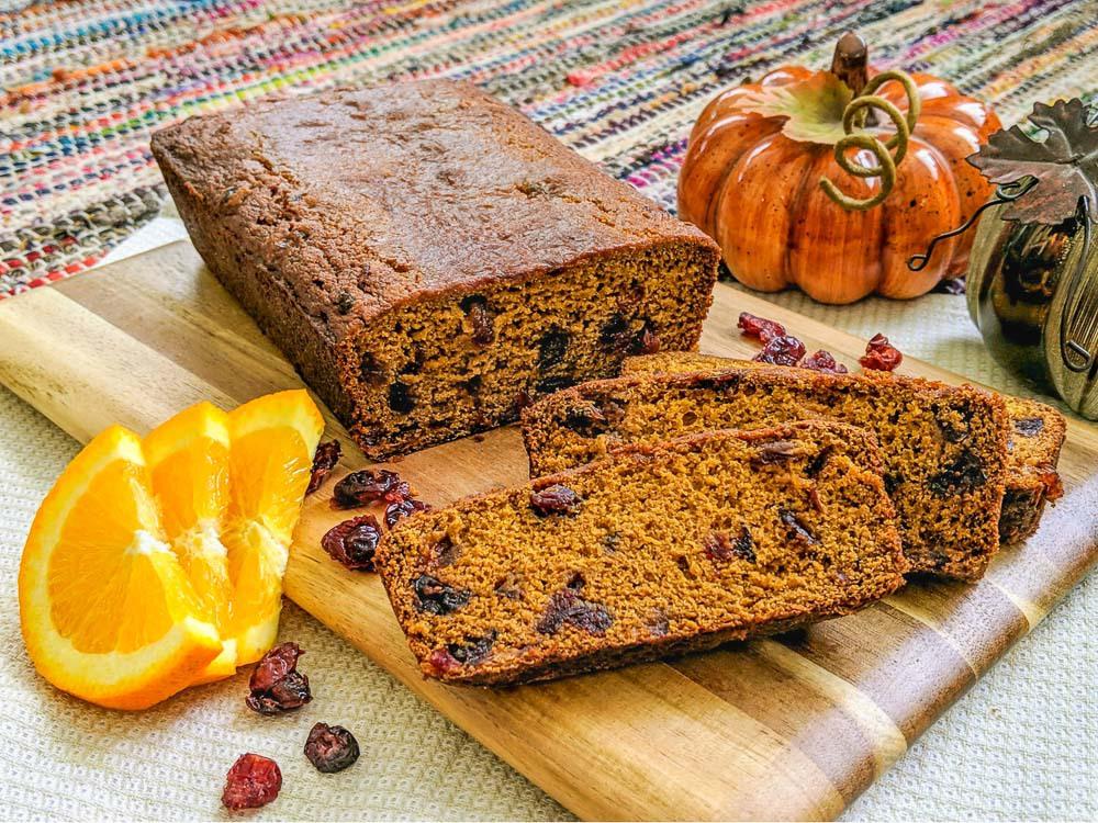 favorite cranberry orange quick bread recipe