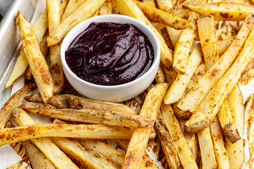 gluten free oil free french fries recipe