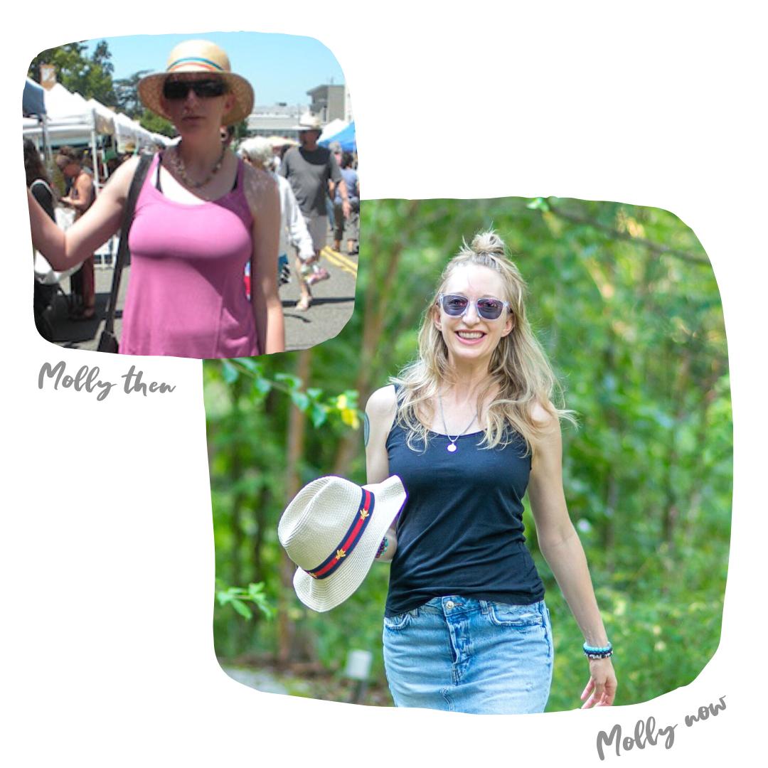Life Coach Molly Patrick Transformation